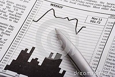 Pen over Grafiek
