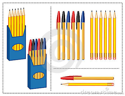 Pen and Pencils Set