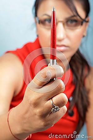 Pen power