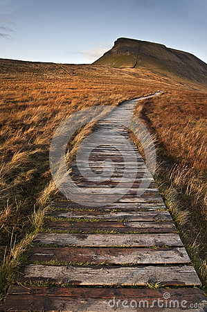 Pen-y-Ghent in Yorkshire Dales