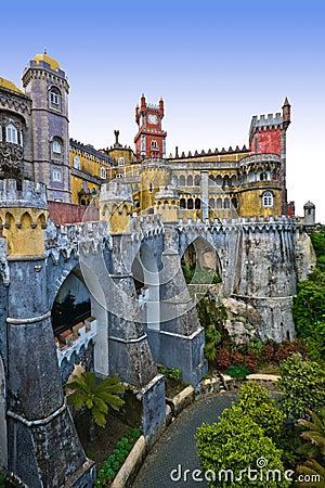 Free Pena Castle Stock Image - 16764881
