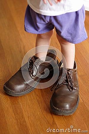 Pełna duże buty.