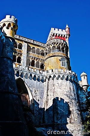 The Pena National Palace.