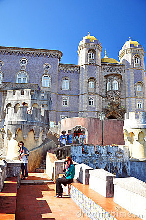Pena palace Editorial Photography