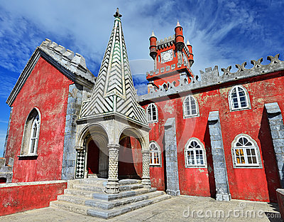 Pena Palace (Palacio da Pina) Sintra in Portugal