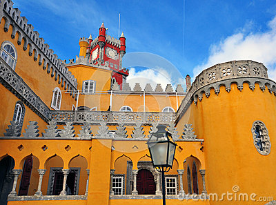 Pena Palace in Sintra National Park