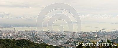 Penang city landscape