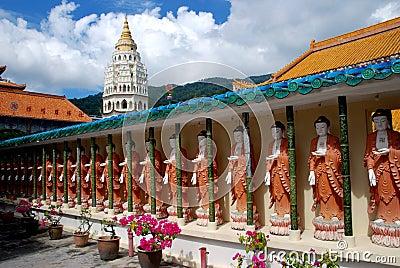 Penang, Malaysia: Buddhas at Kek Lok Si Temple