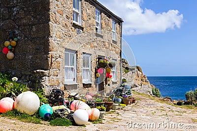 Penberth Cornwall England