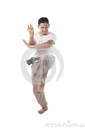 Free Pencak Silat, Indonesian Traditional Martial Art Royalty Free Stock Photo - 132690385