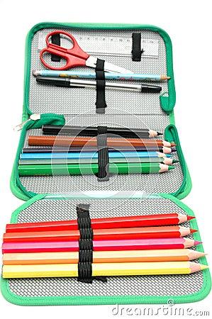 Free Pencil Box Stock Photo - 14069450
