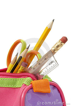 Free Pencil Case 1 Royalty Free Stock Photos - 7500128