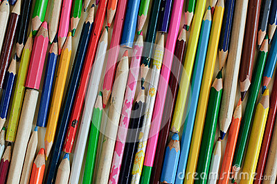 Pencil- color image