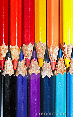 Free Pencil Colors Royalty Free Stock Photo - 13258835