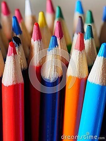 Free Pencil Crayons Stock Photo - 53726370