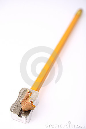 Free Pencil During Sharpening Stock Photography - 8766822