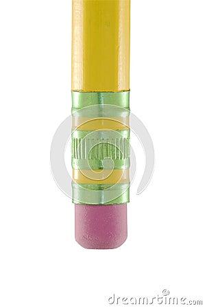 Free Pencil Eraser Macro Stock Image - 13996581