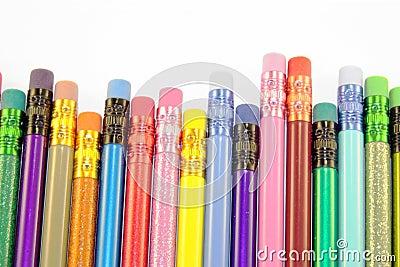 Pencil erasers.