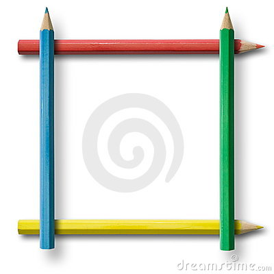 Free Pencil Frame Stock Photos - 3967233