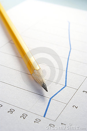 Pencil and graph