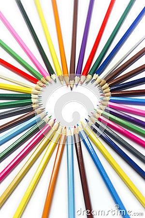 Pencil heart macro