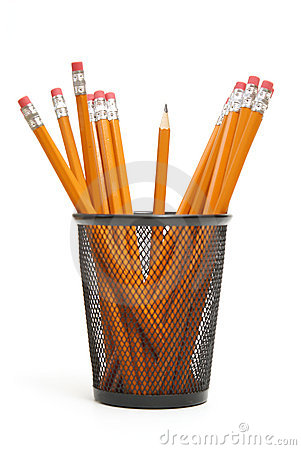 Free Pencil Holder Stock Image - 15539931