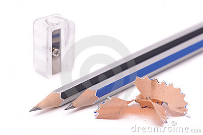 Pencil & knife-sharpener