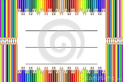 Pencil label vector