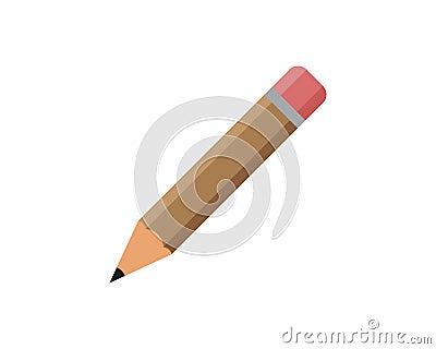 pencil logo vector icon template Vector Illustration