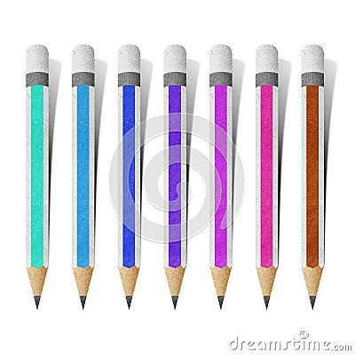 Pencil paper craft