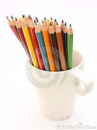Free Pencils Royalty Free Stock Photos - 17384668