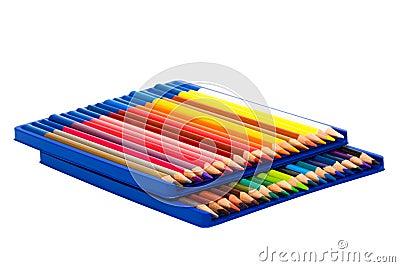 Pencils in a box
