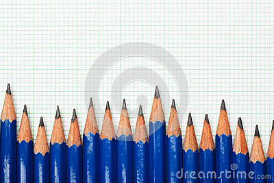 Pencils and graph paper