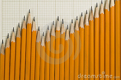 Pencils in a pattern of a graph