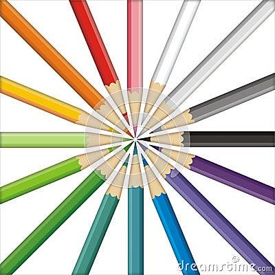 Pencils target