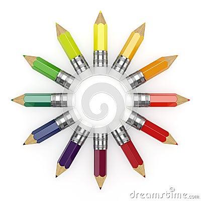 Pencils whee