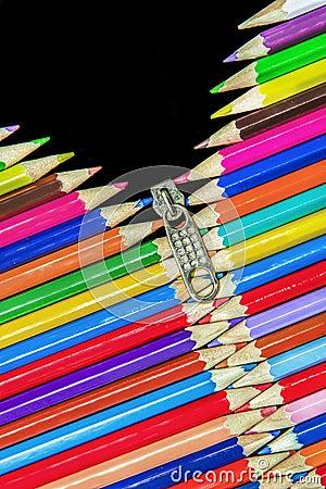 Pencils Zip