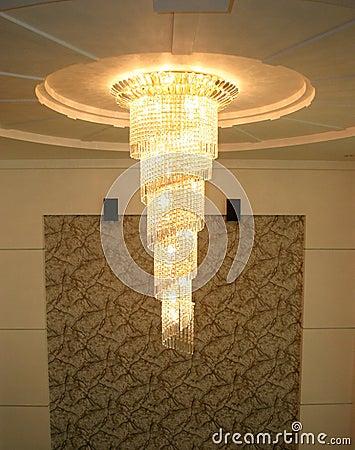 Pendant style chandelier