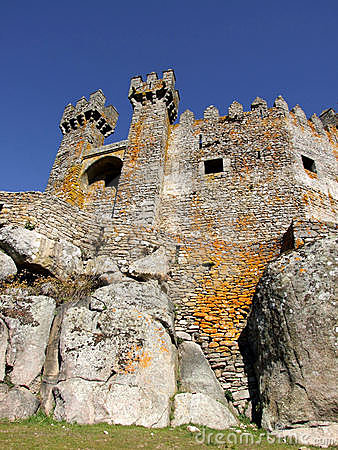 Medieval castle of Penedono in Portugal
