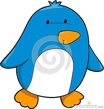 Cute Blue Whale Royalty Free Cute Blue Cartoon Penguin
