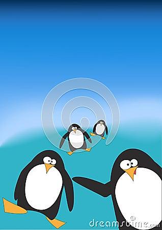 Free Penguins Stock Photos - 13452323