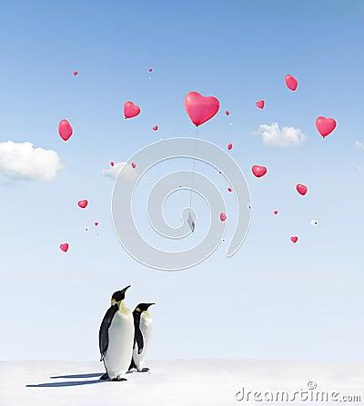 μπαλόνια penguins