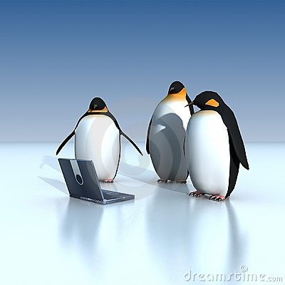Free Penguins Royalty Free Stock Photos - 3225808