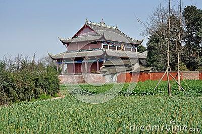 Pengzhou, China: Dong Yua Shi Temple