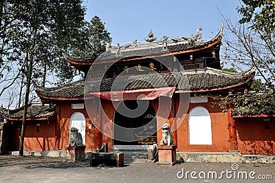 Pengzhou, China: Dong Yuan Shi Temple