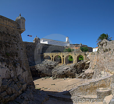 Peniche fort entrance