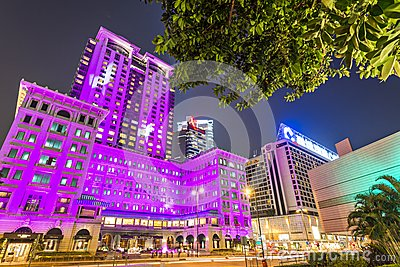 Peninsula Hotel in Hong Kong Editorial Photo