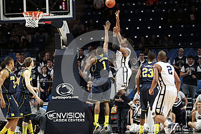 Penn State s Brandon Taylor Editorial Photography