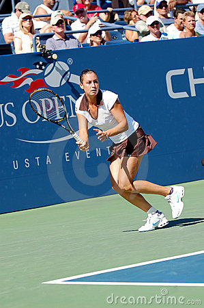 Pennetta Flavia at US Open 2008 (23) Editorial Image