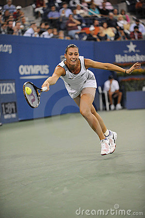 Pennetta Flavia at US Open 2009 (56) Editorial Stock Photo